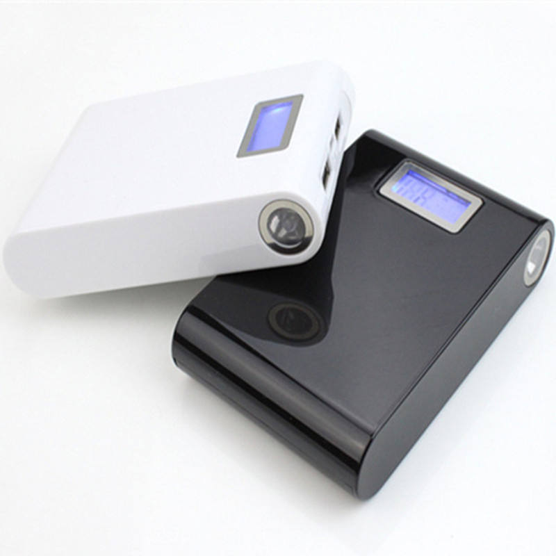 OEM best selling led light display Power bank 18650 Lithium Battery power bank Portable 8800 mAh power bank Phone
