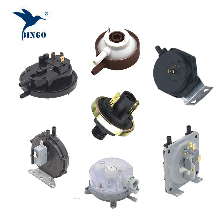 Low pressure switch for Air Gas with Detailed Application air pressure switch