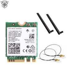 2.4G/5G Dual Band For Intel  AC 8265NGW Wireless Mini Network Card  NGFF 802.11ac 867Mbps