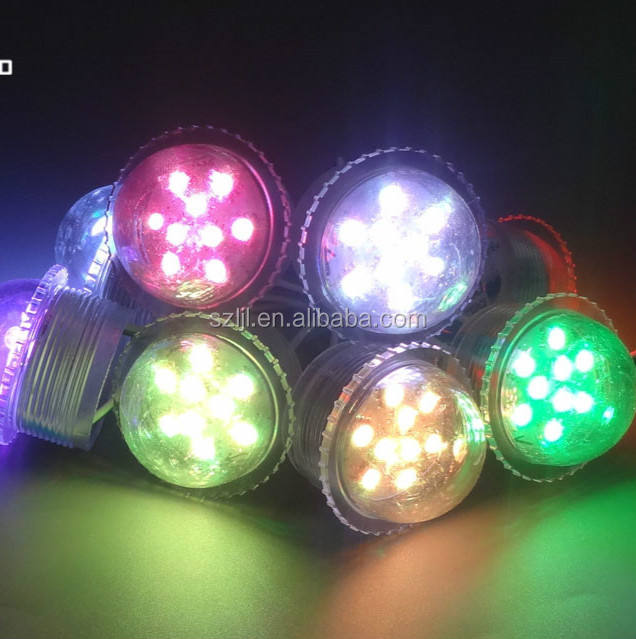 Outdoor Waterproof UCS1903 Addressable 36ミリメートル9 led Fairground Point Light Source