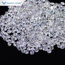 Wholesale 1ct 0.8mm wholesale white brilliant loose moissanite synthetic diamond price for jewelry