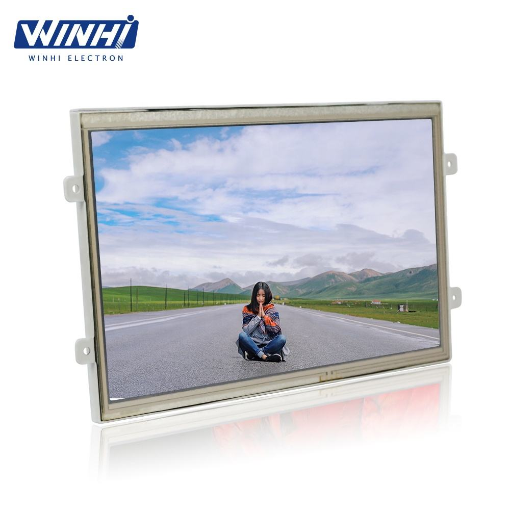 Open frame top advertising 10.1inch 1080p usb memory card marketing advertising lcd display panels video player