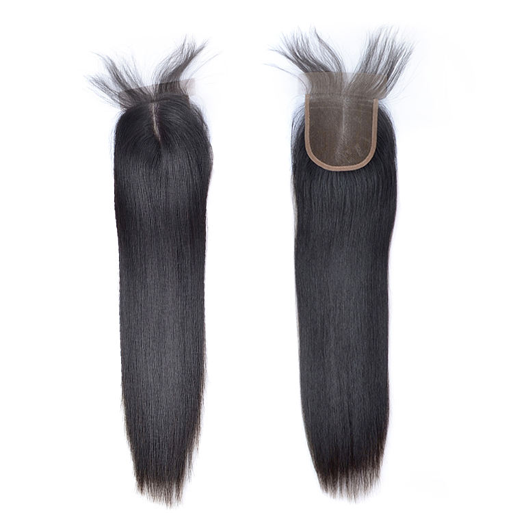 on sale classic style tight weft raw virgin unprocessed human hair with closure