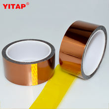 High Quality Silicone Adhesive Solder Masking Using Polyimide Tape 50mm x 33m Widely Used for 3D Printer