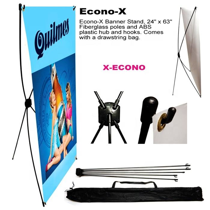 No Moq Limited wholesale advertising cheap x banner stand trade show display