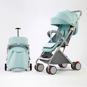 Amazon hot selling can board the plane Portable folding baby stroller