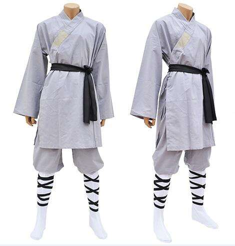 Uniforme chinois traditionnel de kung-fu shaolin