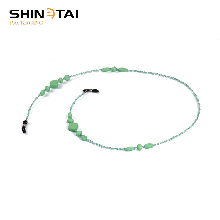 Green Imitation Pearl With Nylon Cord For Eyewear