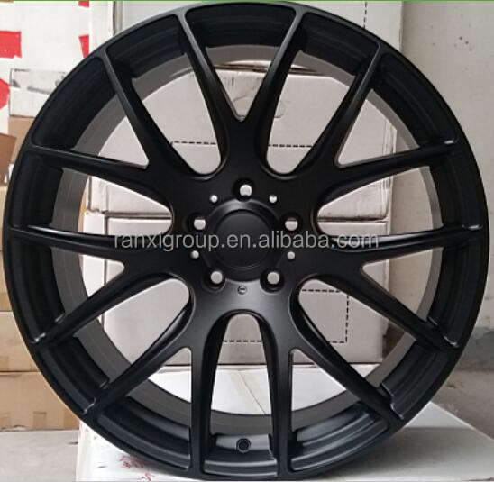 matt black 20x8 5x120 inch car wheel rim/ alloy wheel