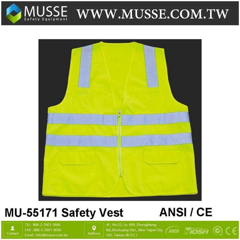 MU-55171例外的な反射テープ安全ベスト安全と機器