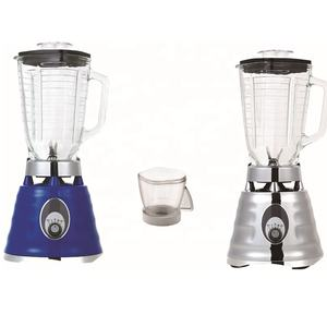 1.5L glass jar 2 in 1 electrolpate housing ice crusher blender oster blender