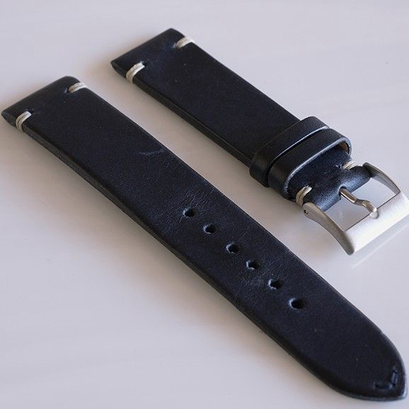20mm cheap band vintage racing leather strap for watches