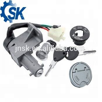 China manufacturer High performance scooter accessories parts kymco agility motorcycle Lock Set