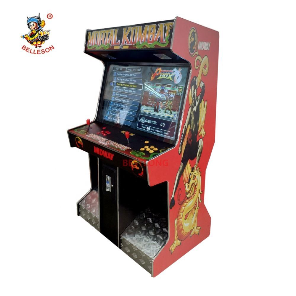 42 inch LCD Arcade Upright Game Machine with 2000+ classic games