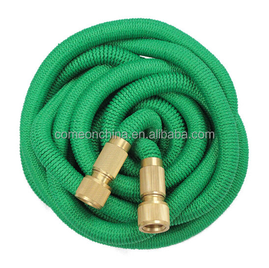 All New 100 Feet Expandable Garden Hose With 8 Function Spray Pattern Nozzle