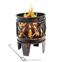 Portable Campfire Bronze Firepit Riser for Bowl