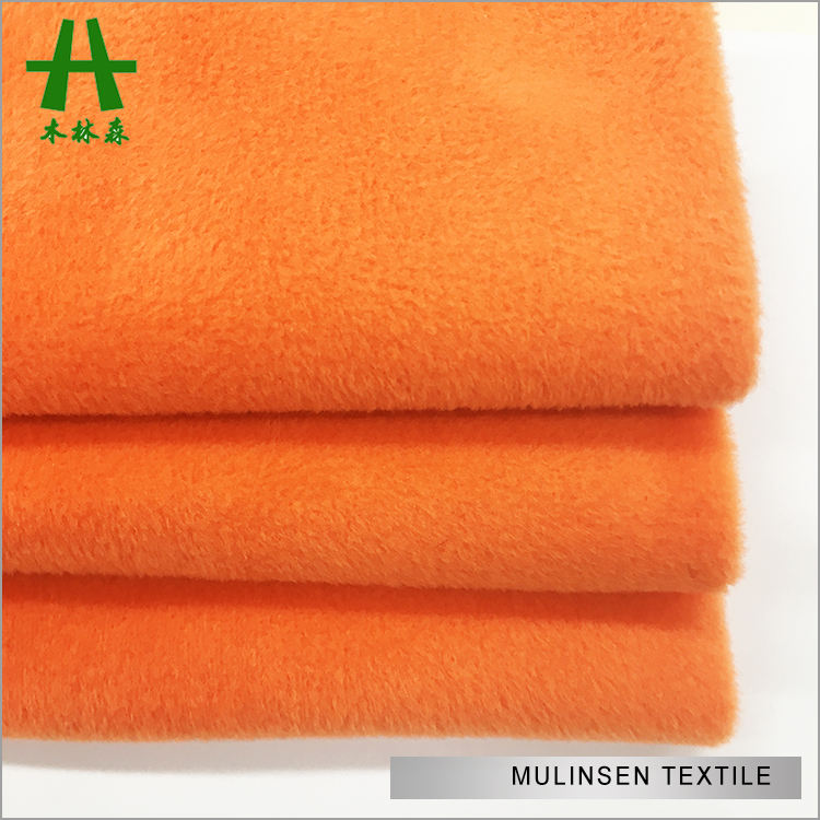 Mulinsen Textile Knit Plain Dye Double Side Super Soft Micro Velvet