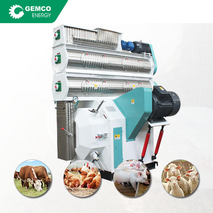 mini poultry feed mill pellet poultry meal portable containerized feed mills