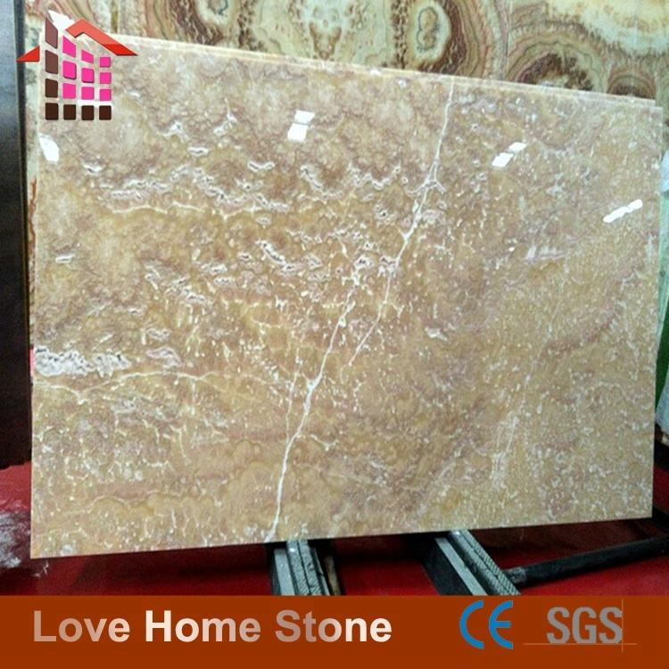 Natural brown onyx for lamps mexico