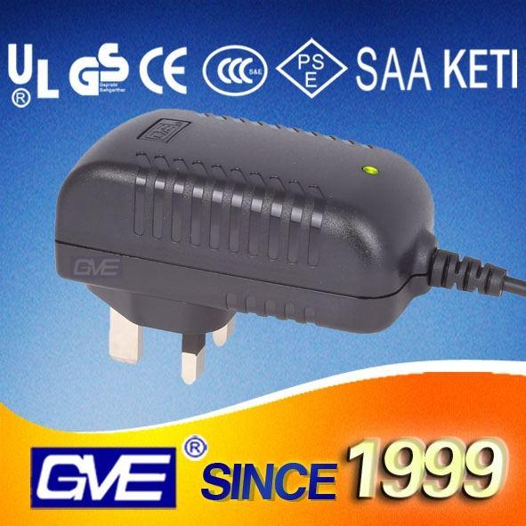 9v0.5a alimentatore switching ac dc con adattatore UL/CUL/FCC/CB/GS/ccc/CE