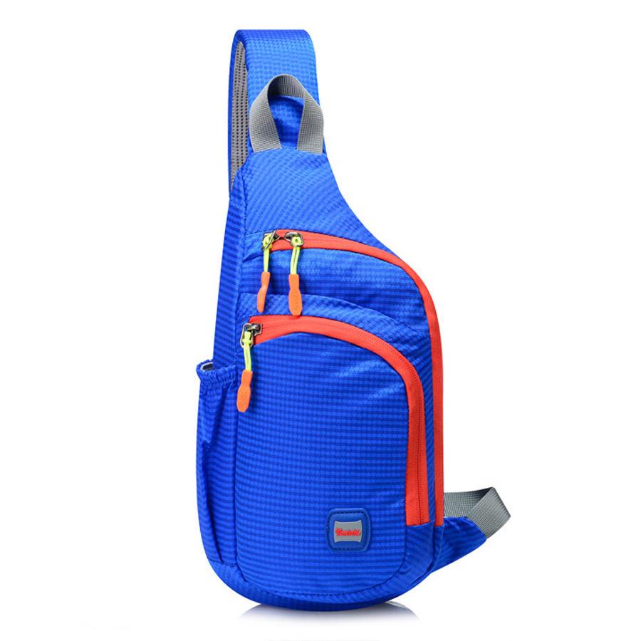C /& S Retro Canvas Breast Bag Mens Single Shoulder Bag Skew Backpack Leisure Sports Cycling Bag