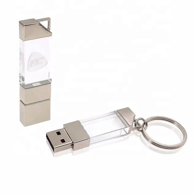 Best Promotional Gifts for Photographers Crystal Glass USB Flash Drive 32GB 16GB Usb Stick Crystal Usb2.0 3.0 8GB 16GB 64GB
