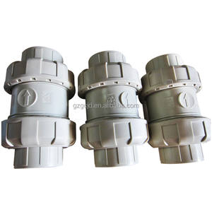 Factory direct high temperature resistant corrosion resistant PPH material double ball ball check valve