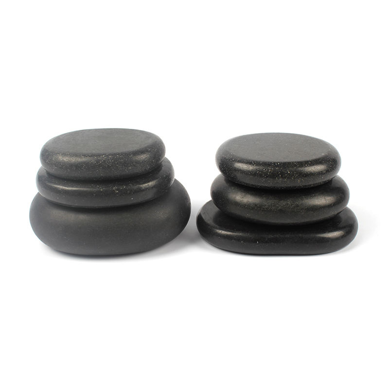 6 pcs a set heat stone hot stone massage set