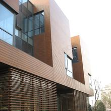Outdoor WPC Wall Panel Composite Wood Cladding