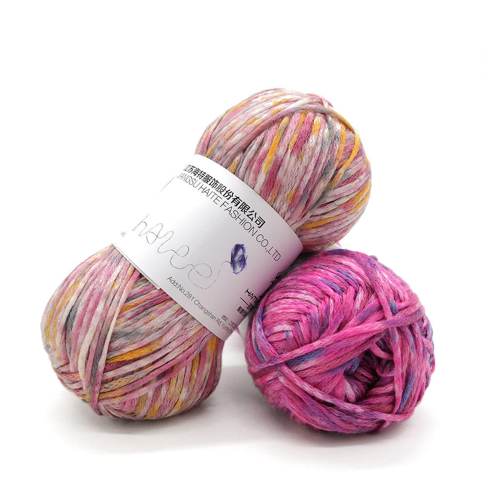 Многоцветный soft touch 100% акрил ручного вязания костюмированного бала пряжи
