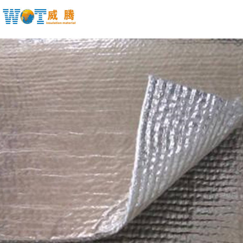 열 Insulation Aluminum 호 일 천 Aluminum 호 일 코팅 Ceramic Fiber Fabric
