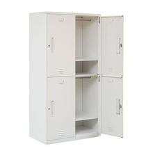 GZJP stainless steel clothes cabinet with 4 doors