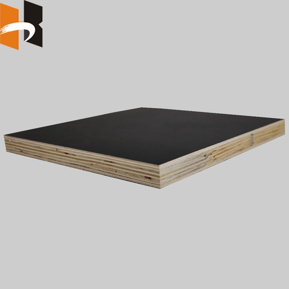 Concrete Construction [ Finger Joint Laminated Board ] Finger Joint Plywood 18mm Black Brown Used Plywood Finger Joint Laminated Board Xuzhou