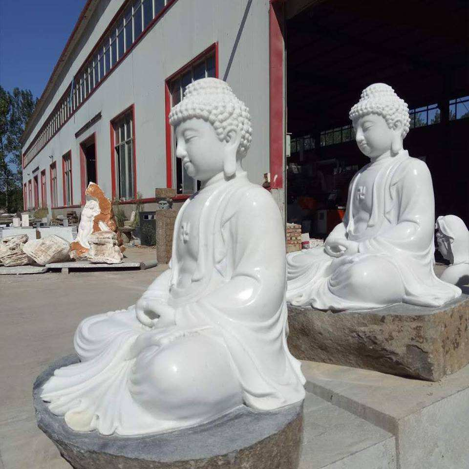 large hand carved stone buddha statue laughing buddha garden statues