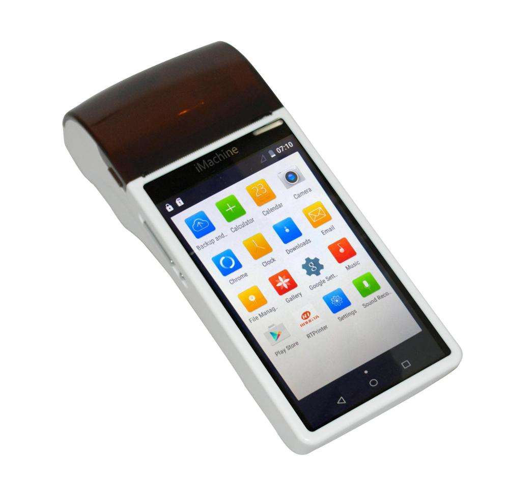 designed for different GSM 2G/3G Wifi Bluetooth GPS Android 6.0 Handheld Pos Terminal