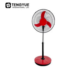 Good Price 16 Inch Rechargeable Fan 2 Battery Rechargeable Fan Heavy Base Rechargeable Stand Fan With Brushless Motor