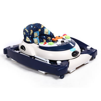 Fun toys easy storage baby walker with light and music