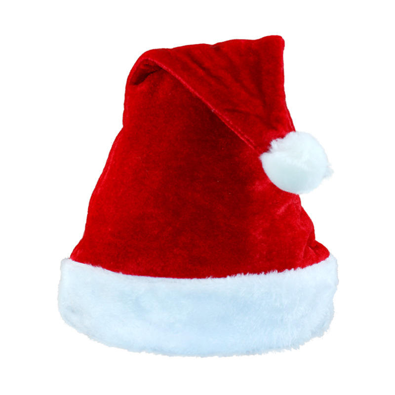 Coupon Santa Christmas Hat for Promotion