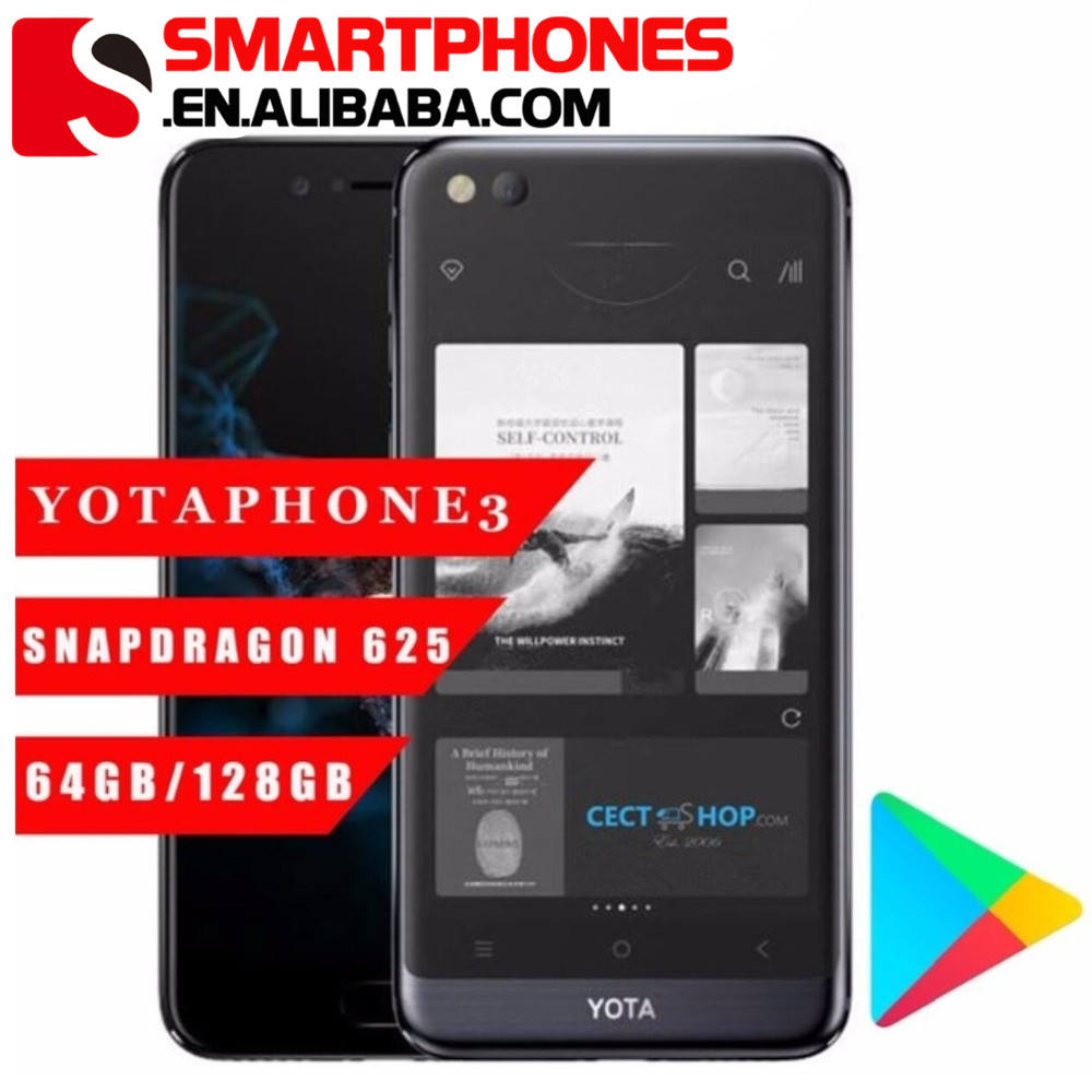 Yota Yotaphone 3 4G Octa Core 4G + 64G Android7.1 Dual 돌 더미 Smartphone 5.5
