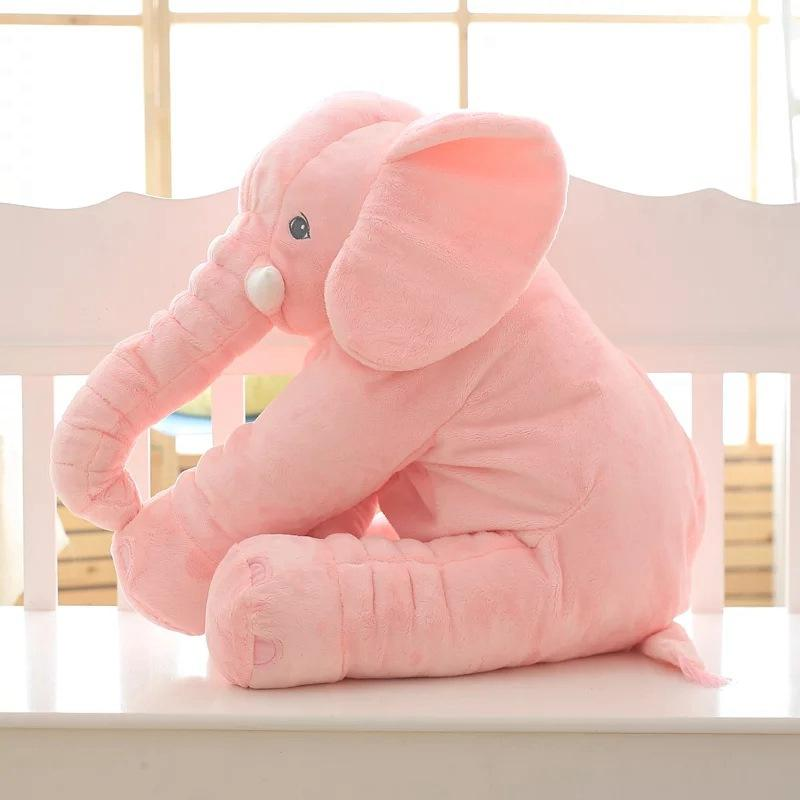 Fashion style rosa baby elephant <span class=keywords><strong>körper</strong></span> besänftigen <span class=keywords><strong>kissen</strong></span> für baby