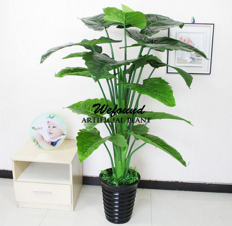 Factory direct sale simulation plant simulation tree The ground potted green plant Decorative fake fake trees wholesale flower