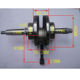 Cheap CD70 motorcycle crankshaft