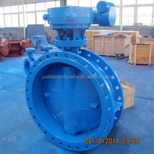 Online buy DN900 large dimension butterfly valve