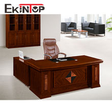 Wholesale Wooden Furniture Modern Office Executive Desk For High End Manager Office Commercial Use