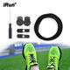 iRun Running No Tie Shoe Laces Round Lazy Reflective Quick Shoelaces System Elastic Shoe Lace Lock For Adults, Kids, Elderly