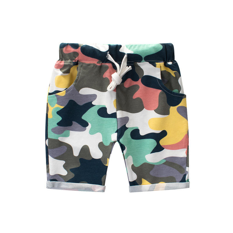 Factory Directly Sale Cheap Price Camo Boxer Shorts Boys Short Pants Child Gym Shorts