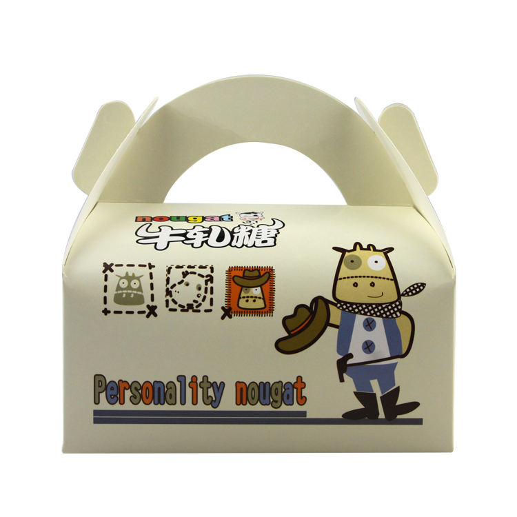 Cake box packing paper child resistant box corrugated price list black shipping box with logo