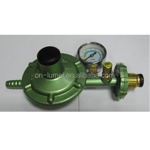 gas valve, lpg cylinder regulator with meter with meter ISO9001-2008