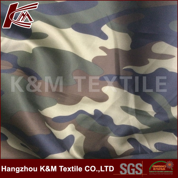 100% polyester 210T taffeta fabric quilted fabric padded quilting fabric