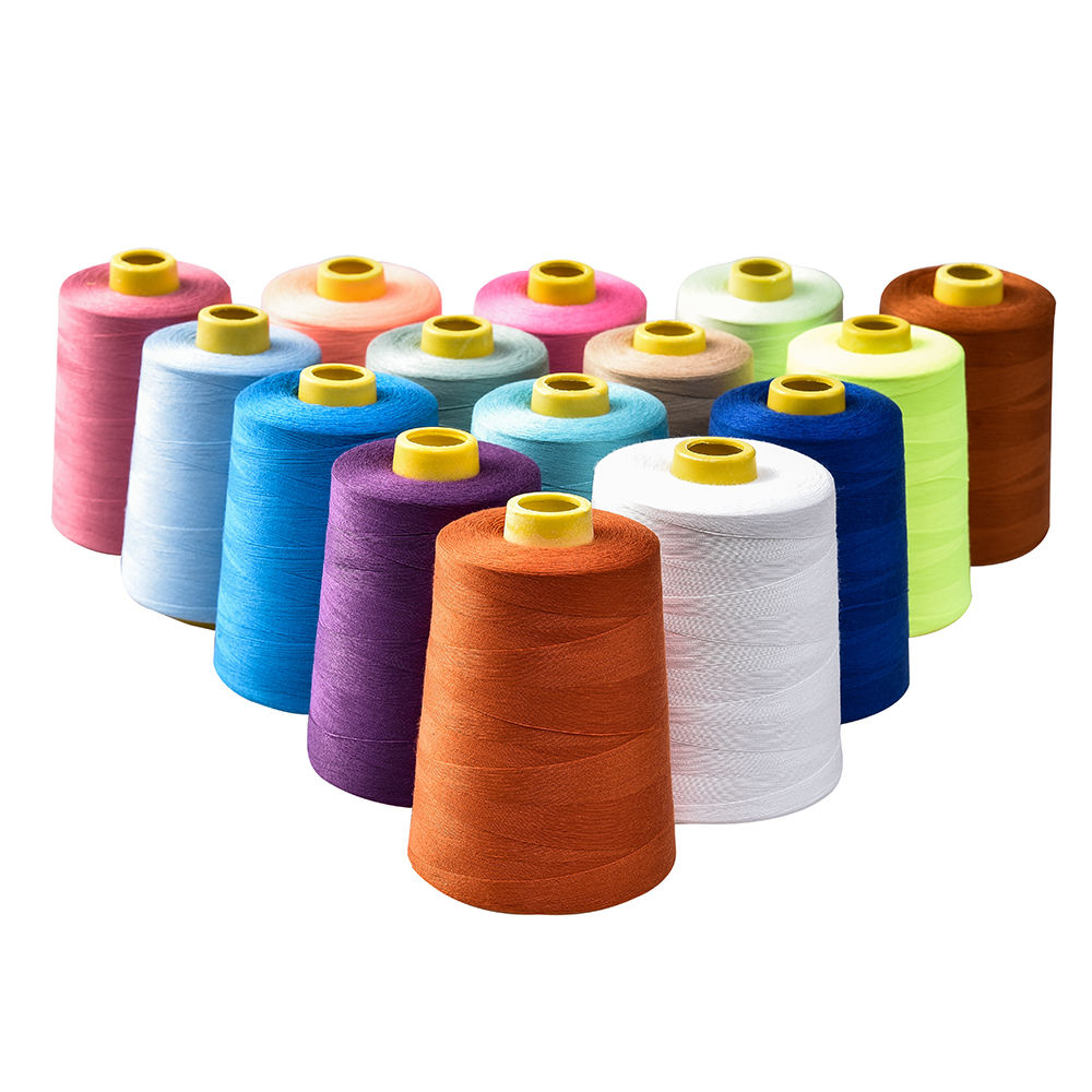 100% Polyester 40/2 5000y Sewing thread